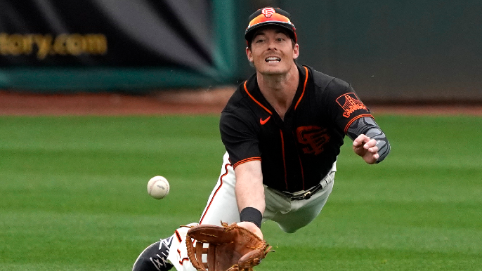Who's on the Giants? Breaking down outfielders before spring training 2.0