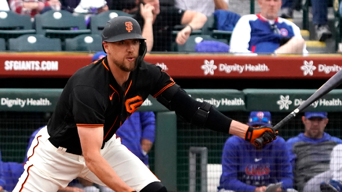 Who will be the Giants' DH?