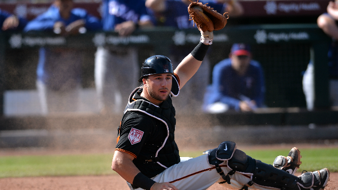 Giants GM Scott Harris details two things club would like to see from Bart before call-up