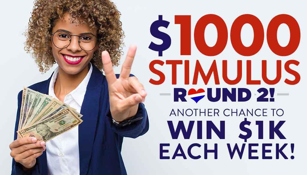 1000 Stimulus Round 2