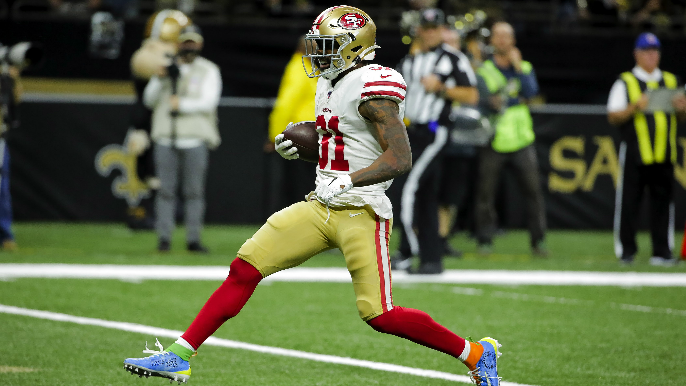 What would 49ers' backfield look like without Raheem Mostert?