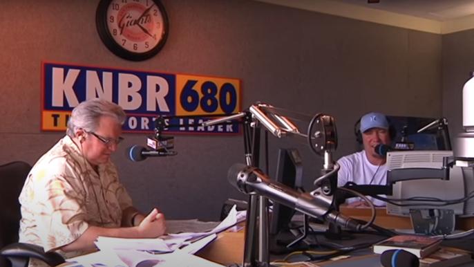 "Tom Tolbert remembers longtime radio partner Ralph ""The Razor"" Barbieri on KNBR"