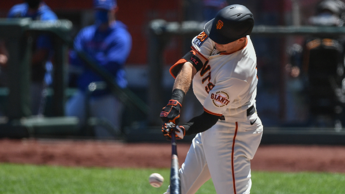 Mike Yastrzemski's demotion never came, and his 'fear' was gone
