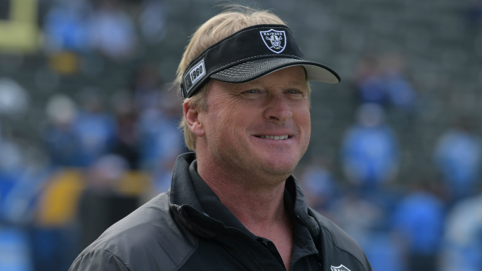 Jon Gruden pretended to have COVID-19 to scare players into taking it seriously [report]