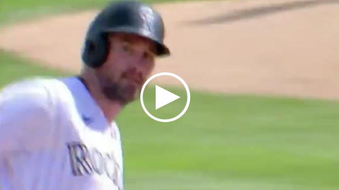 Daniel Murphy did not seem pleased with Mauricio Dubon's seventh inning homer