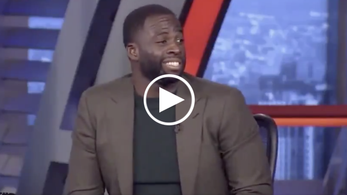 Ernie Johnson asks Draymond if he's 'tampering' after Green says Booker needs to leave Suns
