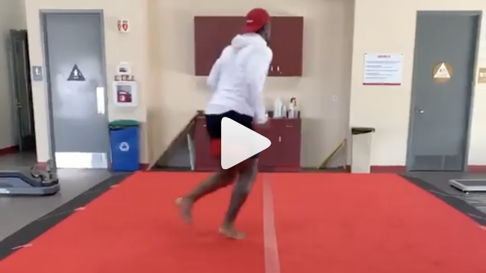 Deebo Samuel shares video update on his rehab seven weeks after surgery