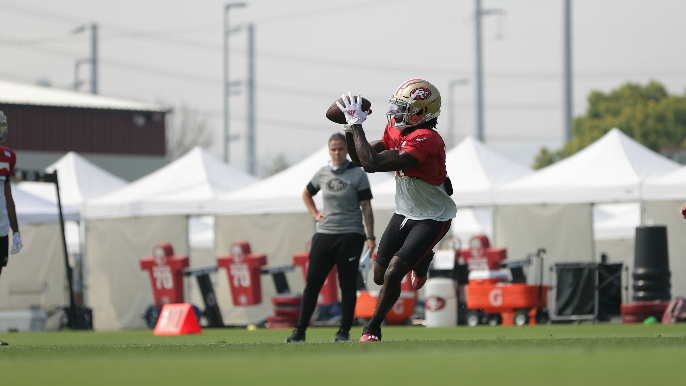 Brandon Aiyuk, Dee Ford, Ross Reynolds sustain injuries in 49ers' practice Sunday