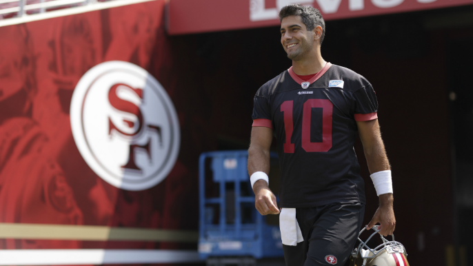 Greg Cosell breaks down why he was 'really impressed' after deep dive into Garoppolo film