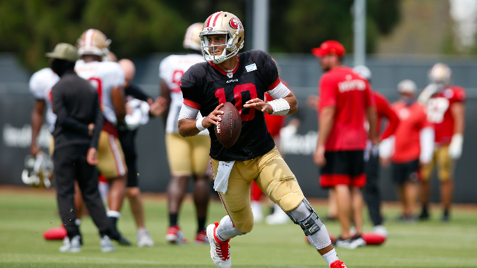 49ers Mailbag: Breakout player predictions, two tight end sets, and another Jimmy Garoppolo pancake?