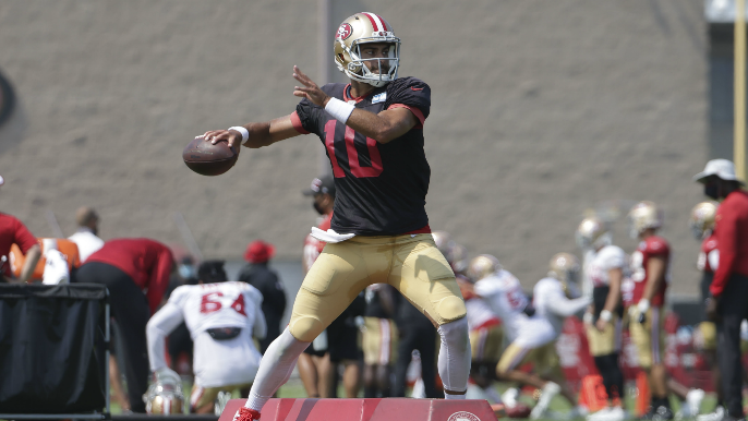 Steve Young: Garoppolo could 'break all the records' with Shanahan's full trust
