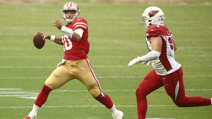 49ers Position Grades: A howler from Jimmy Garoppolo, but defensive line remains stellar