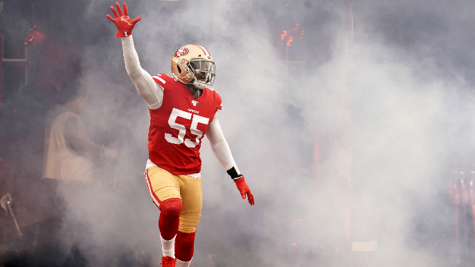 Dee Ford suddenly an injury concern, while 49ers get a positive sign from Ahkello Witherspoon