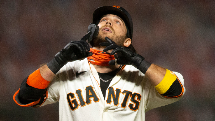 Behind Brandon Crawford's tear, which has answered the big question