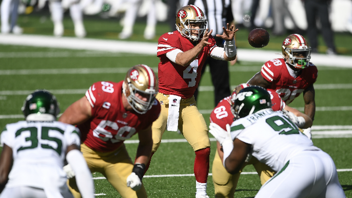 Kyle Shanahan confirms Nick Mullens will start, provides George Kittle update