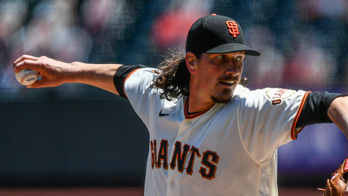 Jeff Samardzija is getting his enormous Giants chance