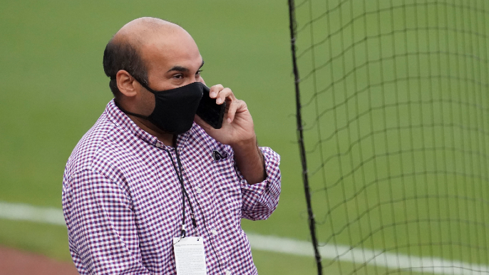 Farhan Zaidi's offseason to-do list begins with starting pitching