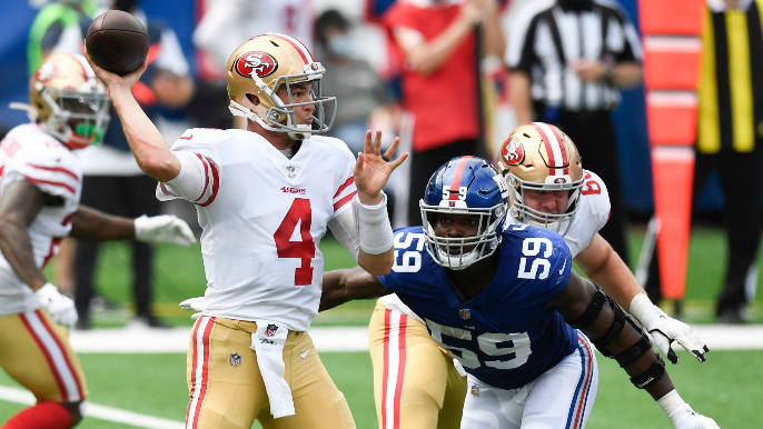 Nick Mullens talks possibility of starting on Sunday, future as NFL starter on KNBR