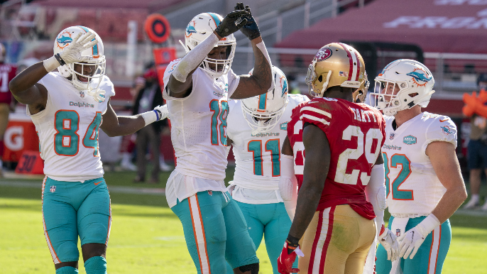 Dolphins troll media members who picked 49ers to win
