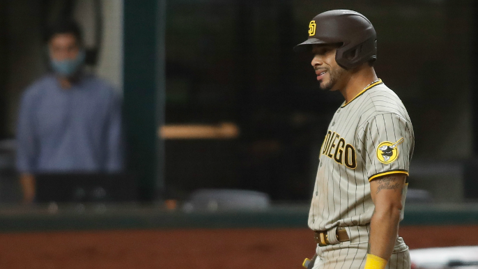 Padres outfielder in 'good condition' after stabbing outside of gentleman's club