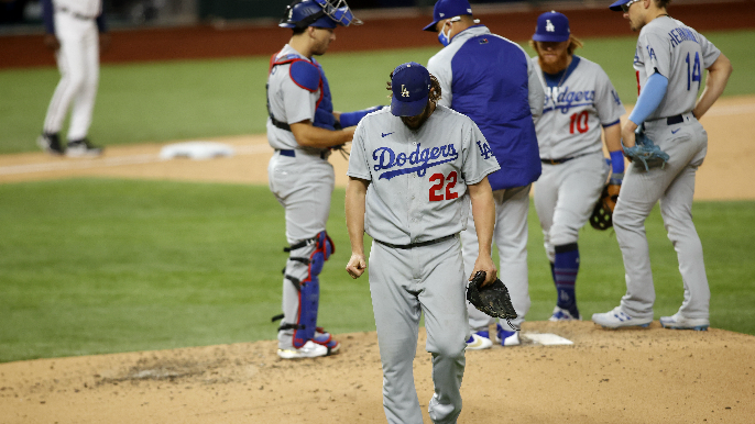 Twitter reacts to another brutal Clayton Kershaw postseason outing