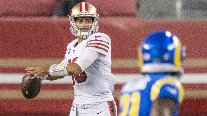 Things finally click for 49ers as they win early against hapless Rams