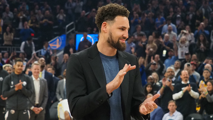 Klay Thompson honors wish of dying Warriors fan with FaceTime visit