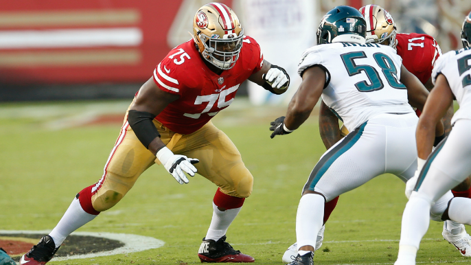 'Pressed up against' the salary cap, 49ers restructure Laken Tomlinson's contract [report]