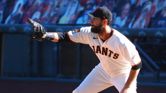 The Giants have one Gold Glove finalist