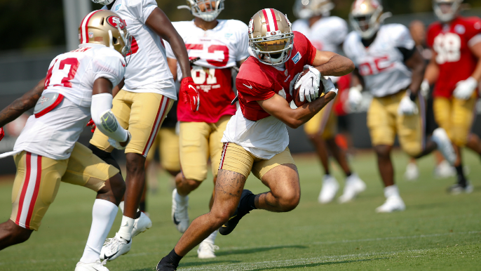 49ers Notebook: Team suddenly loses both starting safeties, Shanahan confirms Dante Pettis trade possibility