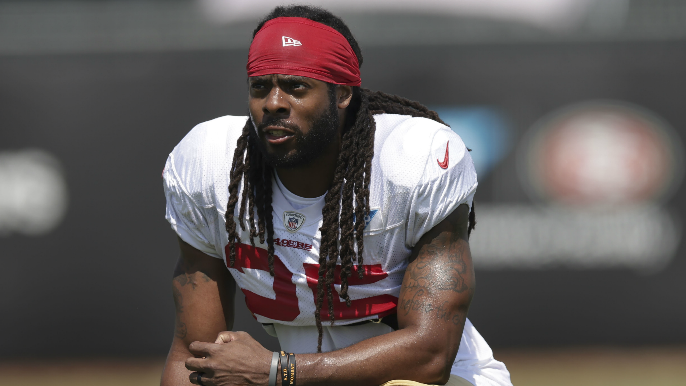49ers Notebook: No injury returns yet, but Sherman's practice presence already being felt