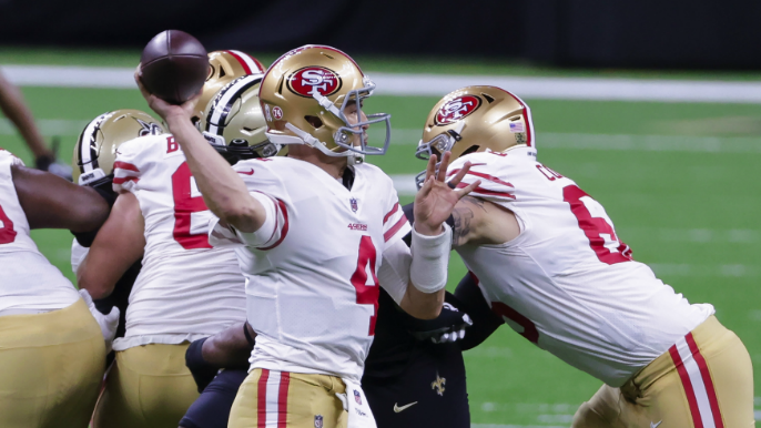 49ers Stock Report: Nick Mullens loses value by the snap