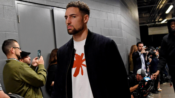 Klay Thompson has sustained a lower leg injury, undergoing tests [report]