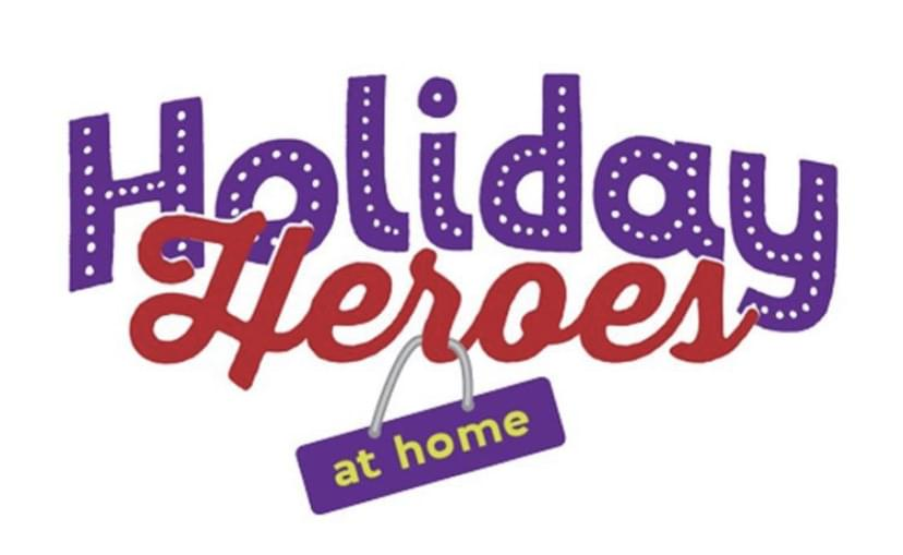 December 8th: Holiday Heroes at Home