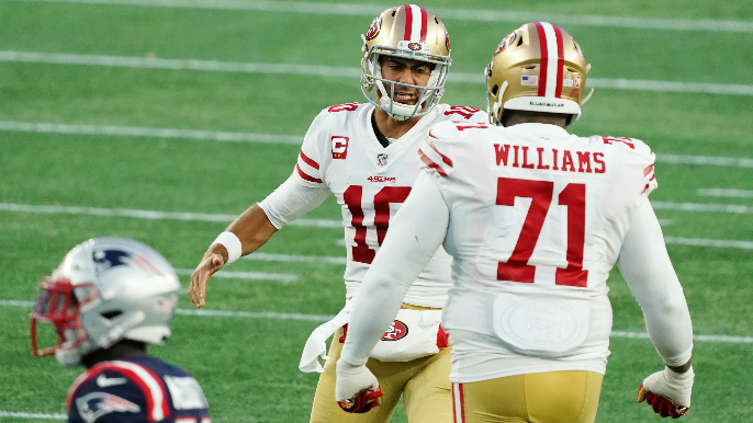 49ers Mailbag: Is there enough cap space to re-sign Trent Williams? Time for a rookie quarterback?