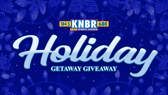 Tune in for KNBR's Holiday Getaway Giveaway's