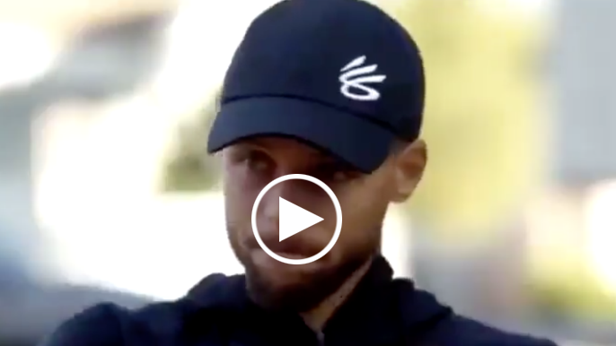 Steph Curry describes 'gut punch' phone call with Klay Thompson: 'A lot of tears'