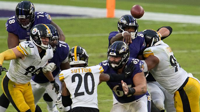 NFL postpones Thanksgiving night's Steelers-Ravens game