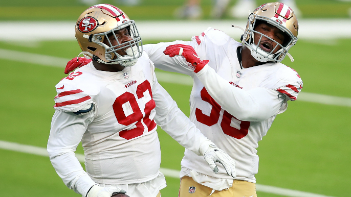 49ers, Rams trade turnovers as San Francisco's defense keeps season afloat in desperate victory