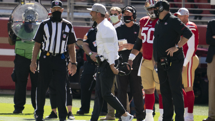 Kyle Shanahan rips Santa Clara County for 'extremely disappointing' ban on contact sports