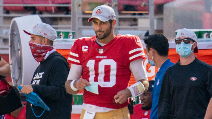 Despite liking Zach Wilson, Steve Young cautions 49ers moving on from Jimmy Garoppolo