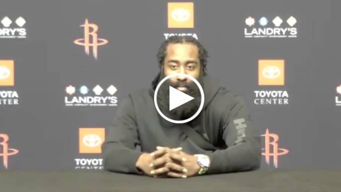 James Harden says Rockets' situation can't be fixed before abruptly leaving press conference