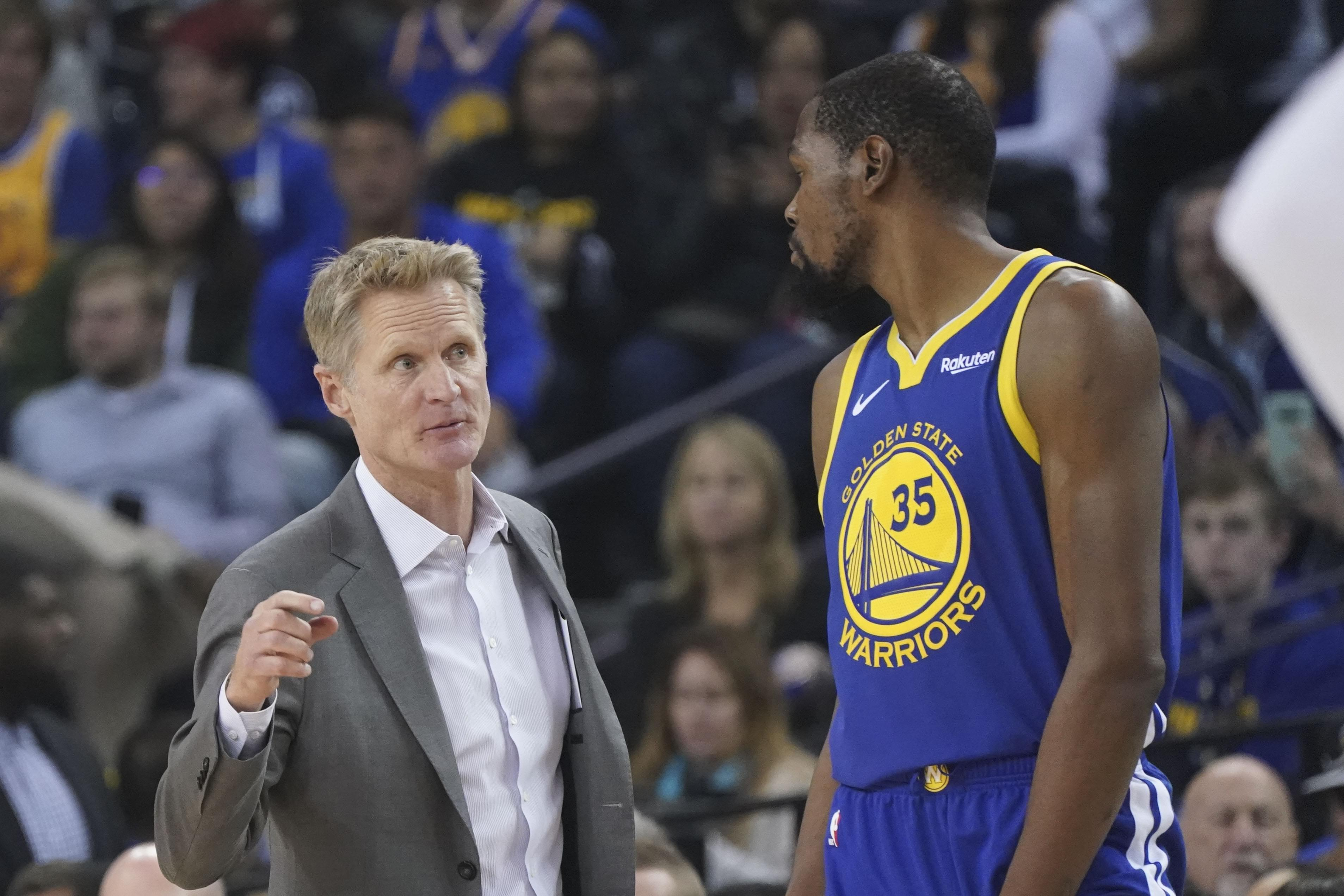 Kevin Durant warned James Harden about playing for Steve Kerr [report]