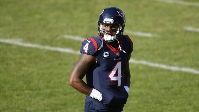 Deshaun Watson posts cryptic tweet, seems to hint at displeasure with Texans front office