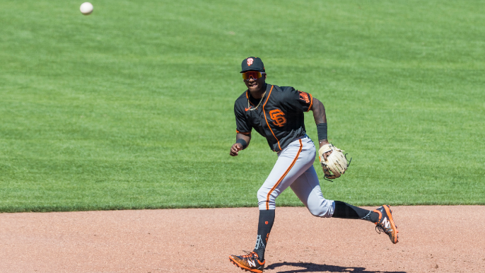 One Giants prospect climbs, two fall, in Baseball America's new Top 100