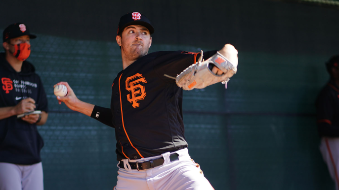'Unbelievable' Kevin Gausman quickly becomes talk of Giants camp