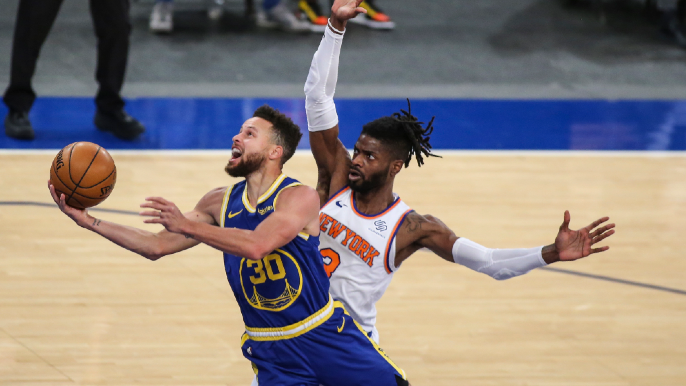 Three takeaways as reinforced Warriors avoid disaster in nervy win over Knicks