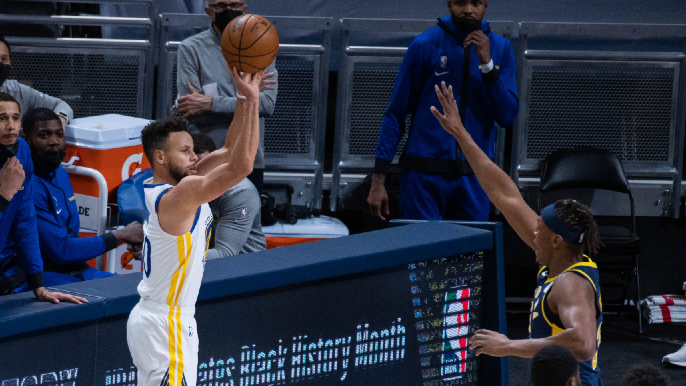 A few observations after Warriors eke out win over Pacers on a 'yikes' shooting night from deep