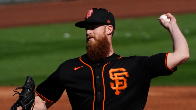 Giants announce expected pitchers for their spring training opener