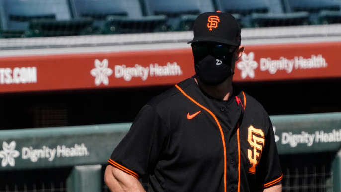 Here's approximate lineup for Giants' spring opener